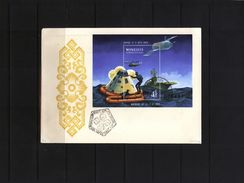 Mongolia 1970 Raumfahrt / Space  FDC - FDC & Commemorrativi
