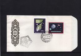 Mongolia 1969 Raumfahrt / Space  FDC - FDC & Commemorrativi