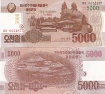 Korea North - 5000 Won 2013 UNC Comm. Lemberg-Zp - Korea, North