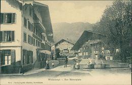 AK Wilderswil, Der Bärenplatz, Um 1900 (S1-200) - BE Berne