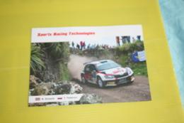 Rallye Voiture Skoda Pilote Nikolay Gryazin Et Yaroslav Fedorov Année 2016 - Rally Racing