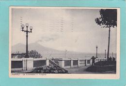 Old Postcard Of La Litoranea E Vsuvio,Napoli,Naples, Campania, Italy,Posted,K44. - Napoli (Naples)