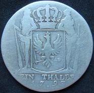 Germany Prussia 1 Thaler 1795 A - Taler Et Doppeltaler