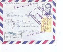 Vénézuéla ( Lettre Exprès De 1977 Vers L'Allemagne à Voir) - Venezuela