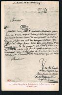 CPA 85 - Lettre D'Anne De La ROCHEJAQUELEIN S'offrant Comme Otage 26 Aout 1791   -Paypal Sans Frais - France