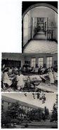 Berchem;Sinte Joanna Instituut :Toegang Internaat,Kloostertuin,Tekenklas,3 Postkaarten - Antwerpen