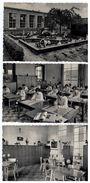 Berchem;Sinte Joanna Instituut:Middelbaar Techn. Instituut Confectieklas,Internaat Kleedkamer,Kleuterpret,3 Postkaarten - Antwerpen