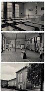 Berchem;Sinte Joanna Instituut:Middelbaar Techn.Instit.kindertuinlageres,Internaat Studiezaal,Gymnastiekza,3 Postkaarten - Antwerpen