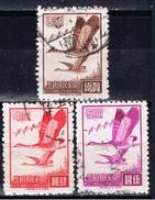 ROC+ Taiwan 1966 Mi 609-10 612 Gänse - Gebraucht