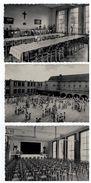 Berchem;Sinte Joanna Instituut:Speelplaats,Internaat Refter,Feestzaal,3 Postkaarten - Antwerpen