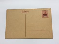 "Memel 1920 Entier Postal Germania 40 Pf Surch. ""MEMELGEBIET"" Neuf TB (Ganzsache Brief Lettre Cover - Memel (1920-1924)"