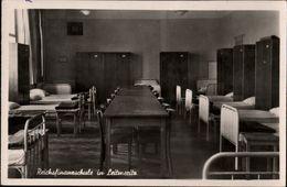 ! Alte Ansichtskarte Reichsfinanzschule In Leitmeritz - Sudeten