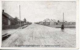 Biélorussie. Kaiser-wilhemstrasse In Baranowitschi - Belarus