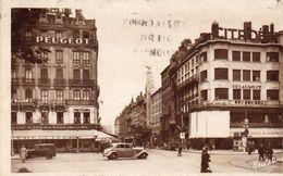 LYON Place Le Viste Et Rue De La République1940 - Lyon