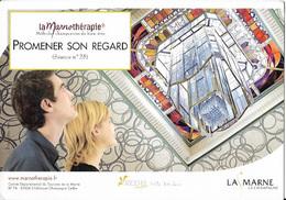 51 - Reims - La Marnotherapie - Seance 25 - Bibliotheque Carnegie - Lanterne En Pendentif - Jacques Simon - Reims