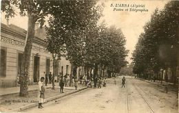 Cpa ALGERIE - L ARBA - Postes Et Télégraphes ( L'ARBAÂ ) - Other Cities