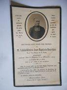 IMAGE SOUVENIR M L4 Abbe Almire Jean Baptiste Bourdais Cure Vice Doyen De LA POOTE MAYENNE 1925 GENEALOGIE - Devotion Images