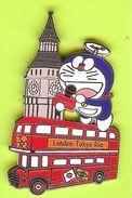 Pin's Mascotte TV Asahi Bus London Tokyo Rio  - 8T18 - Mass Media