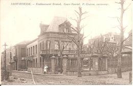 SAINT-ETIENNE (42) Grand Café Restaurant BRUNOD - Cours Fauriel - P. Cizeron , Successeur - Saint Etienne