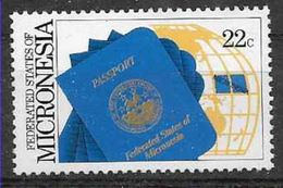 1986 MICRONESIE 41** Passeport - Micronésie