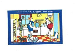 Buvard Confort électrique La Cuisine Par Jean Bellus - Electricité & Gaz