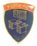 ALPINI - SPILLA / DISTINTIVO FURIERE (Esercito Italiano / Servizio Militare) - Militari