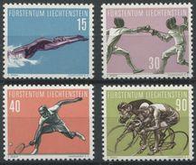 1656 - Liechtenstein Sportserie V Von 1958 - Postfrisch - Ungebraucht