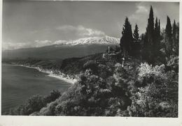 Taormina  -  Etna Da Villa Falconara. Used 1955    Italy   # 06628 - Italy