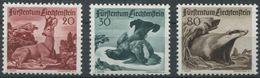 1657 - Liechtenstein Jagdserie III Von 1950 - Postfrisch - Liechtenstein