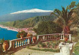 Taormina  -  Panorama E L`Etna. Used 1973    Italy   # 06630 - Italy