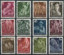 1658 - Liechtenstein Ländliche Motive Serie Von 1951 - Einheitlich Gestempelt - Liechtenstein