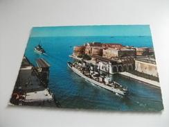 NAVE SHIP GUERRA TARANTO USCITA DELLA SQUADRA - Guerra