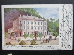 AK SALZBURG RIEDENBURG 1900//// D*26244 - Salzburg Stadt
