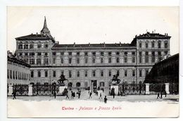 - ITALIE - CPA Vierge TORINO - Palazzo E Piazza Reale - Ediz. Z. P. T. - - Palazzo Reale