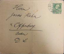 Palestine Jerusalem Austria Post Office Postal Stationary To Baden. - Palestine