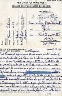 PRIGIONIERI POW CAMP DEPOT III BOGHARI ALGERIA 1944 GELA GREAT BRITAIN & FRENCH - Posta Militare (PM)