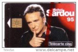 FRANCE PRIVEE 5U GN198 MICHEL SARDOU  NSB MINT IN BLISTER - Musique