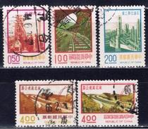 ROC+ Taiwan 1974 1976 Mi 1043 1045 1049 1154 1157 Technik - 1945-... Republik China