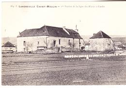 10 Landreville Champ-Moulin. 1ère Station De La Ligne Des Riceys à Cunfin.datée 1907. Tb état. - Autres Communes