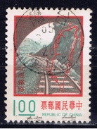 ROC+ Taiwan 1974 Mi 1044 1049 Eisenbahnlinie, Autobahn - 1945-... Republik China