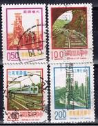 ROC+ Taiwan 1975 Mi 1043 1045 1154-55 Technik - 1945-... Republik China