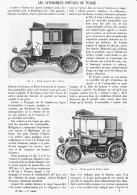 LES AUTOMOBILES POSTALES De TUNISIE  1902 - Transportation