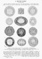 """LA PHILATHELIE INCONNUE """" LES TIMBRES-SCEAUX """"  1902 - Stamps"""