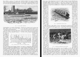 OXFORD Et CAMBRIDGE 70 ANS De COURSE à L'AVIRON   1902 - Remo