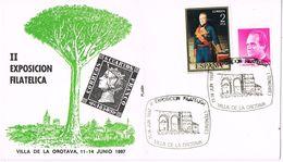 24885. Carta Exposicion OROTAVA (Canarias) 1987. Arbol Drago - 1981-90 Cartas
