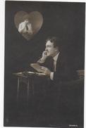 CARTOLINA FOTOGRAFICA PRIMO NOVECENTO - SOGGETTO LETTERE D'AMORE - SERIE 3039/5 - SCRITTA SUL RETRO 08.05.1923 - Fotografia