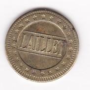 JETON 10 Centimes  à Consommer LAILLET ,  Jeu De Comptoir , Machine à Sous ,necessité  2 Scans - Monétaires / De Nécessité