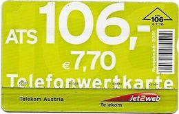 AUTRICHE 7.70 Euros - Autriche