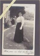 """Photographe Martinez De Paris - Légende Manuscrite D'époque :  """"Photo Prise Au Bord Du Lac D'Enghien"""" Datée 11 Sep 1911 - Enghien Les Bains"""