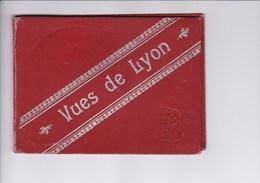VUES DE LYON (12 Vues En Dépiant Accordéon Sous Livret Carton Fot) - Dépliants Touristiques